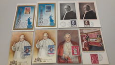 Vatican City 1959/1962 Postcards FDC and maximum Philately