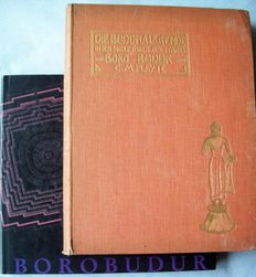 Lot with 3 editions about the Borobudur (Java) - 1901/1991