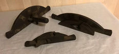 Lot of three wooden planes, approximately 1900, England