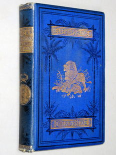 John Roberts - Life & Explorations of David Livingstone - C1880