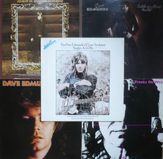 Dave Edmunds / Love Sculpture / Rockpile - Lot of 10 albums (1968-1982) - various countries of press