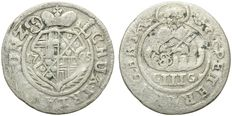 Germany, Trier – 1/6 Thaler 1705 – silver