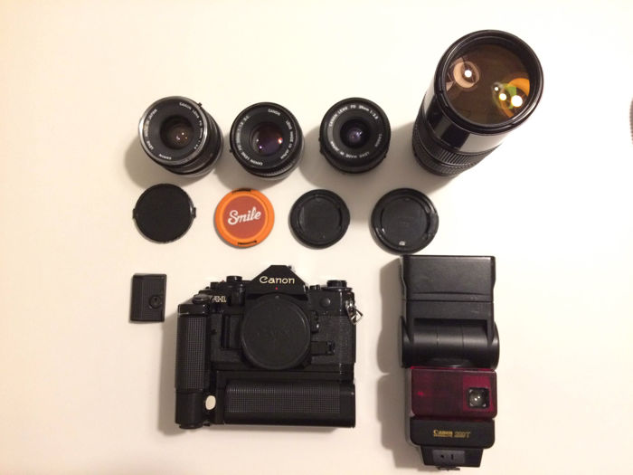 Canon A1 professional kit