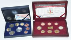 Malta and Spain - Year packs 2002 and 2008