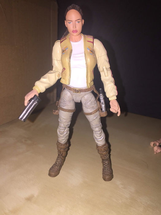 Tomb Raider 1 2 Cradle Of Life Game 6x Figure Angelina Jolie As