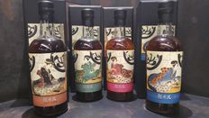 4 bottles - Karuizawa Geisha Limited Edition set