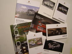Porsche brochures - lot of 8 - 2002 / 2008