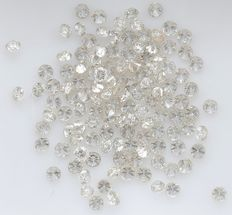 125 Round Brilliant Diamonds – 1.50 ct.