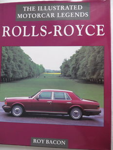 Rolls Royce - books and documentation - 1 curious old reviews 1930-1935, 2 Rolls Royce - Bentley (Dutch) and 3 Rolls-Royce, the motorcar legends