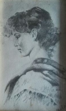 'Diolaiti' (20th century) - Two portraits - from the 1970's