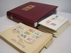 International - over 400 postal stationery, postal items, letters, as well as cards in album and lot