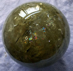 Huge Citrine sphere - 130 mm - 3.70kg
