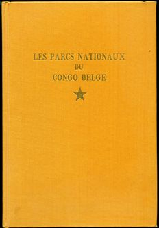 a lot with 6 books about the Belgian Congo -  1914 / 1958