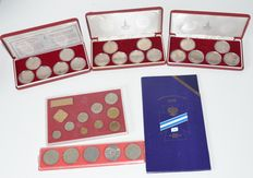 Russia - Lot with different coins and year collections (6)