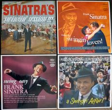 Frank Sinatra - 12 of his Capitol albums 1954/61 - reissues 1984