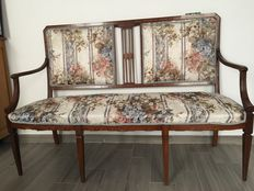 Bench Empire style, late 1800s