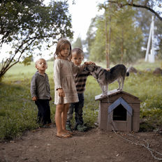 "Tadas Kazakevicius - Children - from series ""Soon to be Gone"