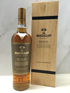 Macallan Edition No.1 in Wooden Box Limited Edition