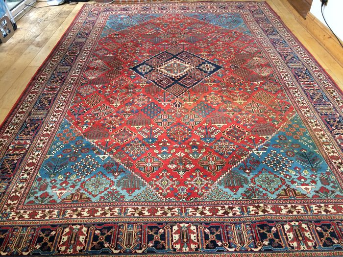 magnifique grand tapis persan joshegan - Grand Tapis