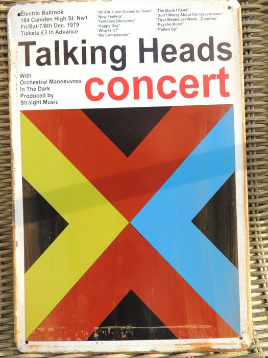 Talking Heads - Concert  - Camden High 8 Dec 1979 -