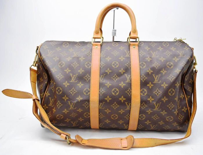 louis vuitton keepall 45 bandouli re boston reisetasche catawiki. Black Bedroom Furniture Sets. Home Design Ideas