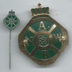 ANWB Technical Service Rare Hat Badge & Lapel Pin Collector's item