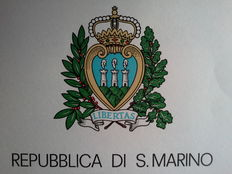 San Marino – Collection in albums 1961 – 1996 PO, PA, EX, Sheets