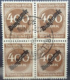 German Empire 1875/1923 - Selection complete series