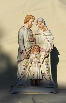 The Holy Family - Germany - circa 1900