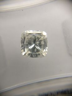 0.80 ct Cushion cut diamond F SI1