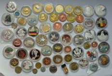 Collection of various medals and tokens
