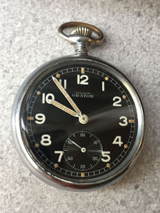 Orator Precision - WWII Military pocket watch - Men's - 1901-1949.
