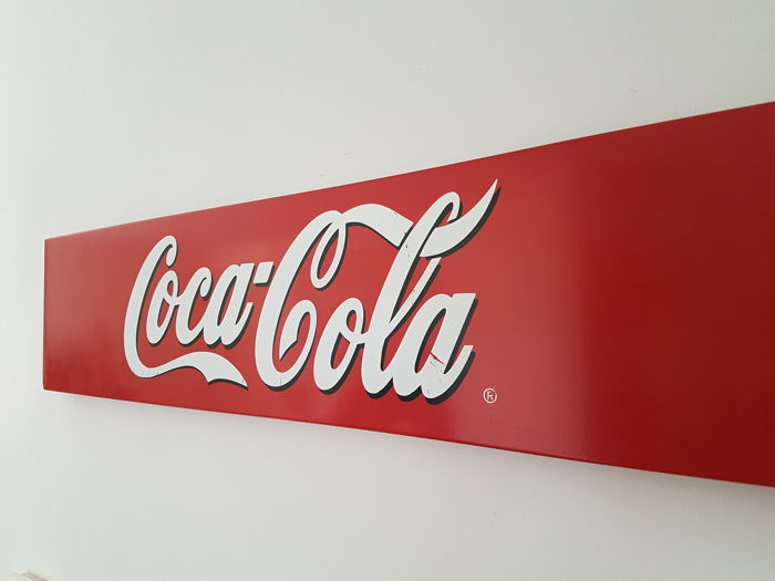 Nice Coca Cola advertising sign