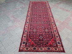 Rare Antique Hand Knotted Persian Runner 292 x 100 cm