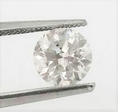 Round Brilliant Cut  - 0.94 carat - E color - SI1 clarity - AIG certificate - Cert # Engraved On Girdle -  Low Reserve