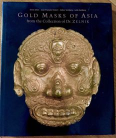 Book: Gold Masks Of Asia: From The Collection Of Dr. Zelnik (by Jelen, Janos; Jean-Francois Hubert) - 2009
