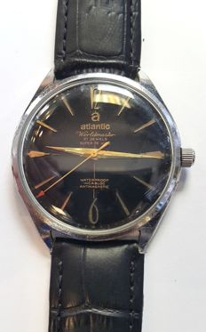 Vintage wrist watch Atlantic Worldmaster Super De Luxe - Switzerland around 1960s