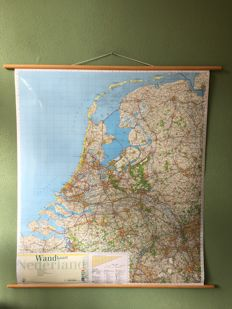 Detailed School Map The Netherlands