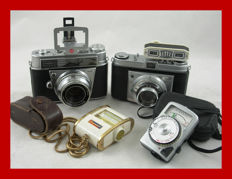 Kodak Retina automatic I [type 038] from 1960-1963 and Kodak Retinette [type 022] from 1954-1958