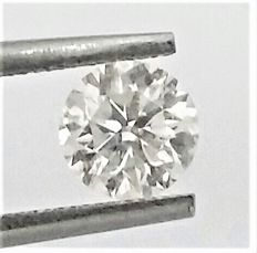 1.00 carat  - F color  - SI1 clarity  - Round Brilliant Cut  -Natural Diamond  Comes With AIG Certificate + Laser Inscription On Girdle