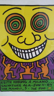 Keith Haring (after) - Milano