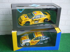 UT Models - Scale 1/18 - Lot with 2 Different Opel Calibra ITC & DTM