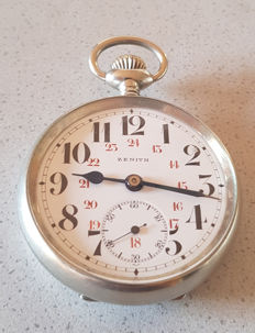 48. Zenith Swiss - observation pocket watch - small seconds - crica 1905