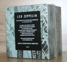Led Zeppelin - The complete Studio Recordings - 10 CD Box Set