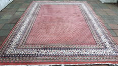 Magnificent Hand-knotted Oriental - Indo Sarough-Mir 345cm x 253cm with certificate !