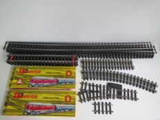 Gauge 0 - Rivarossi - 5 points and 20 rails