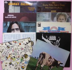 Ten of the best albums of 1970; David Bowie, Led Zeppelin, Jimi Hendrix, Pink Floyd, Beach Boys, CCR, CSN&Y, Stephen Stills, James Taylor and Simon and Garfunkel