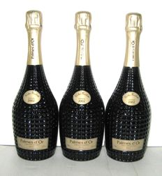 2002 Champagne Nicolas Feuillatte Cuvée Palme d'Or - lot of 3 bottles