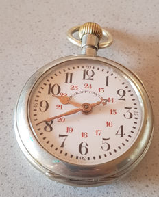 ROSKOFF PATENT - observation pocket watch - circa 1905