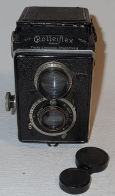 Rolleiflex Original Model 614 -  6x6 TLR - early 1930s